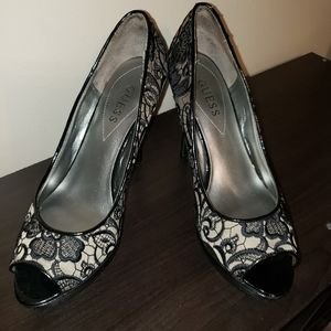 Guess Platform Heels